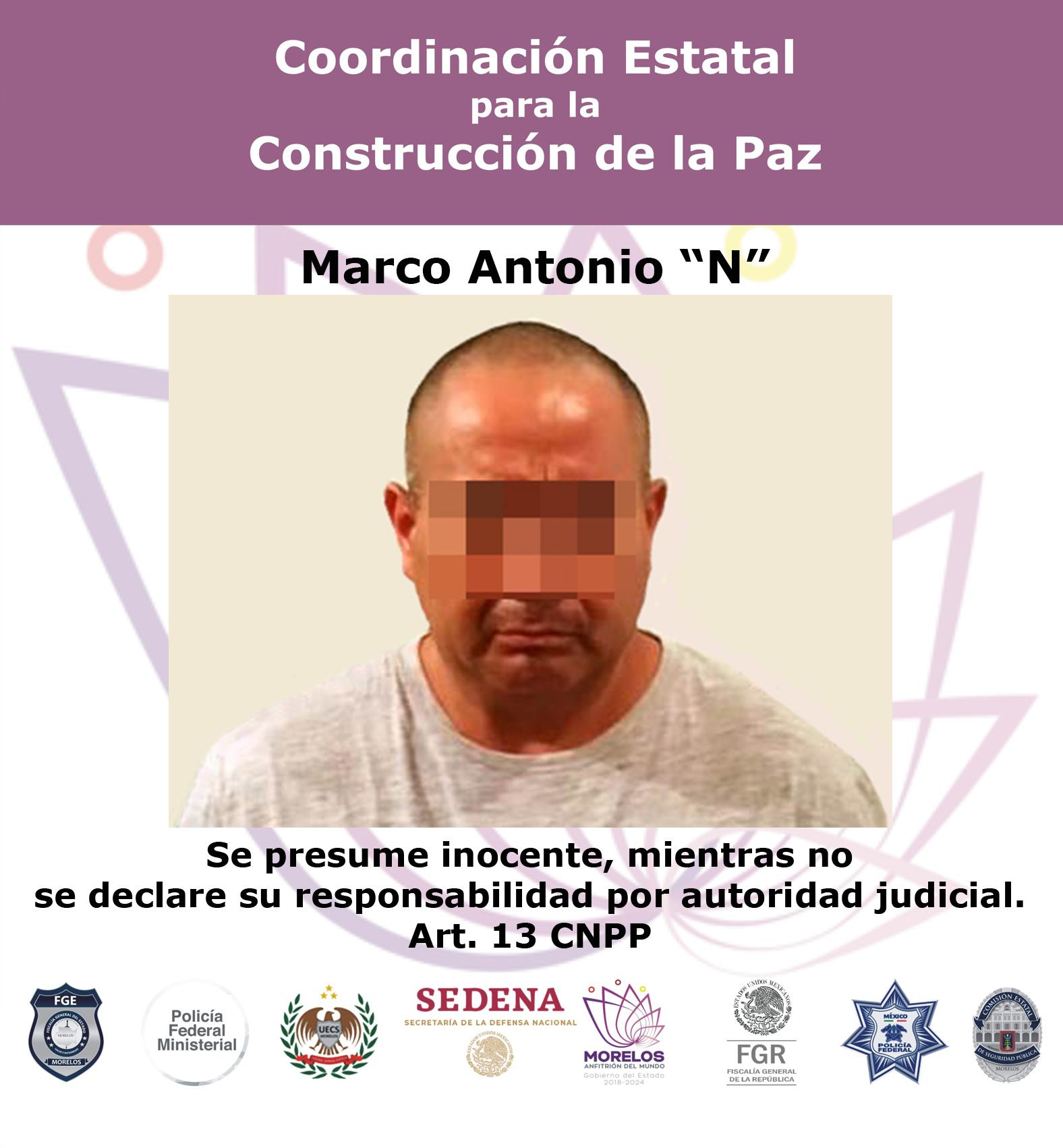 Bol 0118n Marco Antonio