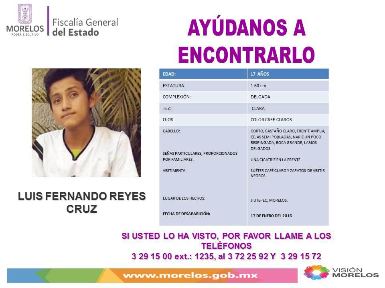 Luis Fernando Reyes Cruz