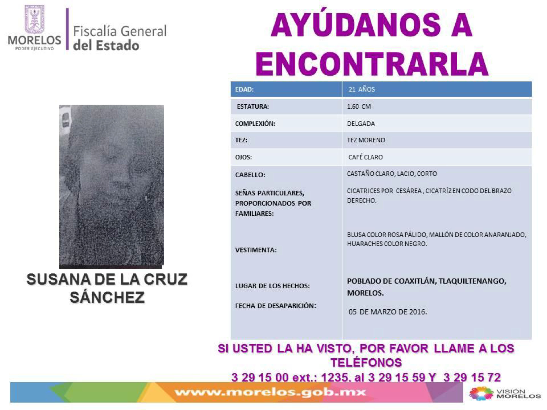 Susana de la Cruz Sánchez