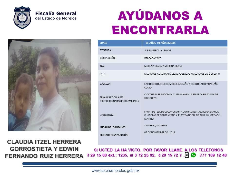 CLAUDIA ITZEL HERRERA GORROSTIETA Y EDWIN FERNANDO RUIZ HERRERA