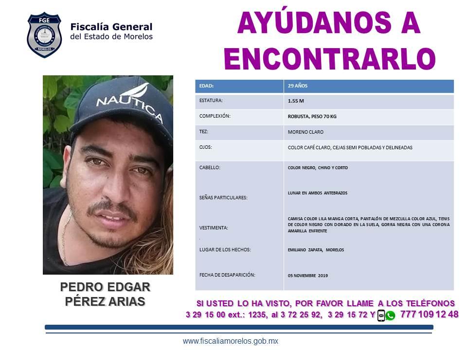 Pedro Edgar Pérez Arias