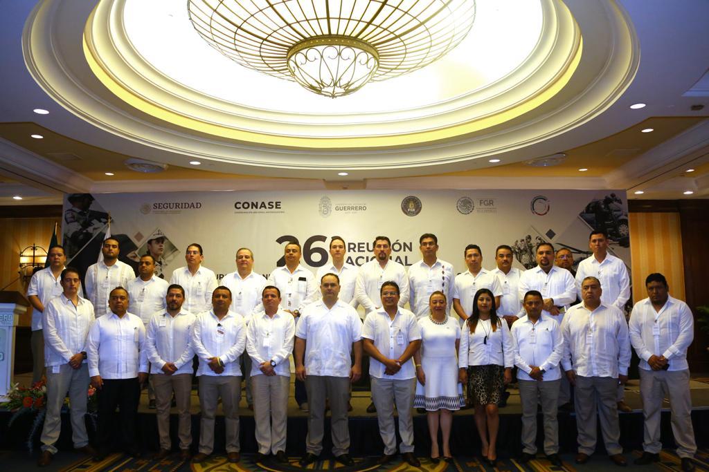 Reunión Nacional con homólogas antisecuestro (1)