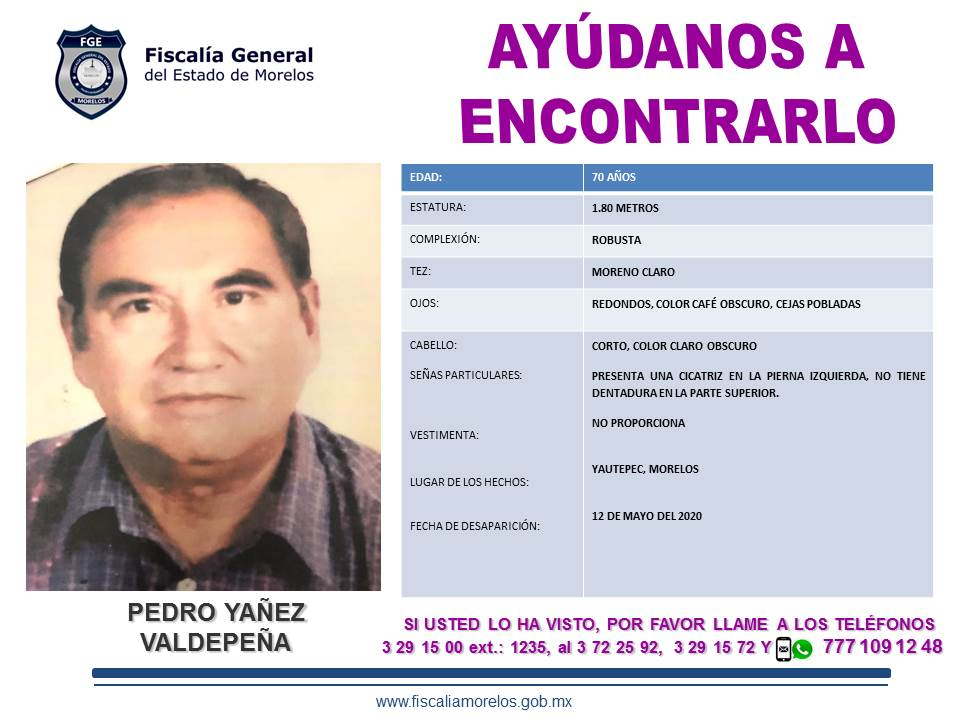 PEDRO YAÑEZ VALDEPEÑA