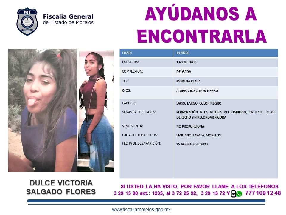 Dulce Victoria Salgado Flores