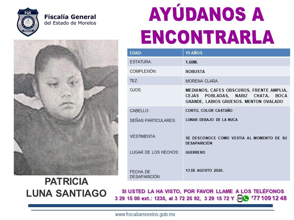 Patricia Luna Santiago