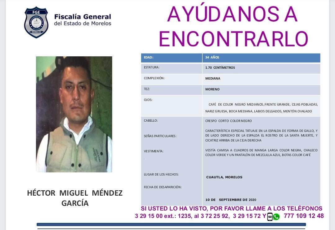 Hector Miguel Mendez Garcia