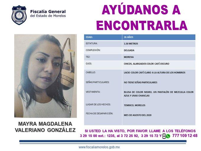 Mayra Magdalena Valeriano Gonzalez