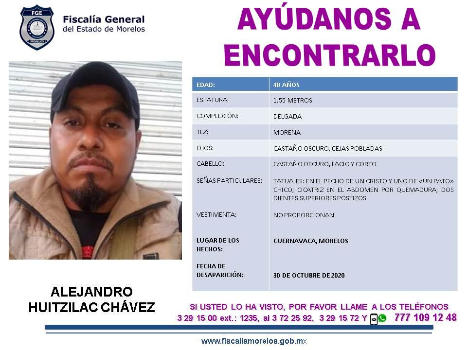 4.11.20. sc11657-20 ALEJANDRO HUITZILAC CHAVEZ 40a. s.2-11.20.c.X .itn