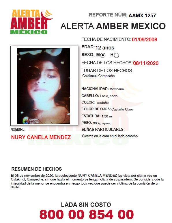 NURY CANELA MENDEZ (CAMP)