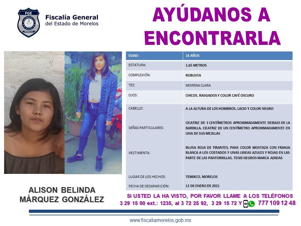 ALISON BELINDA MÁRQUEZ GONZÁLEZ