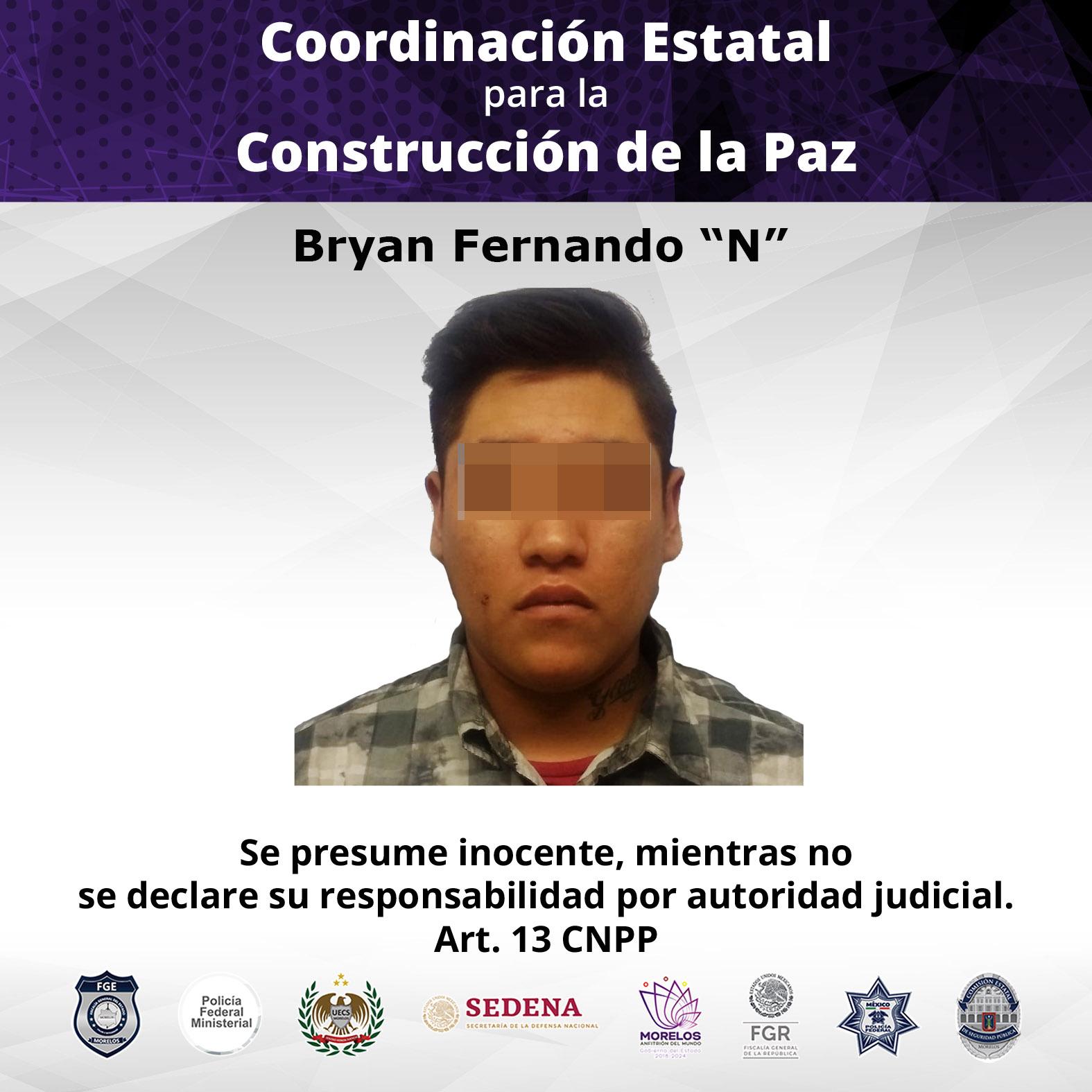 """Bryan Fernando """"N""""."""