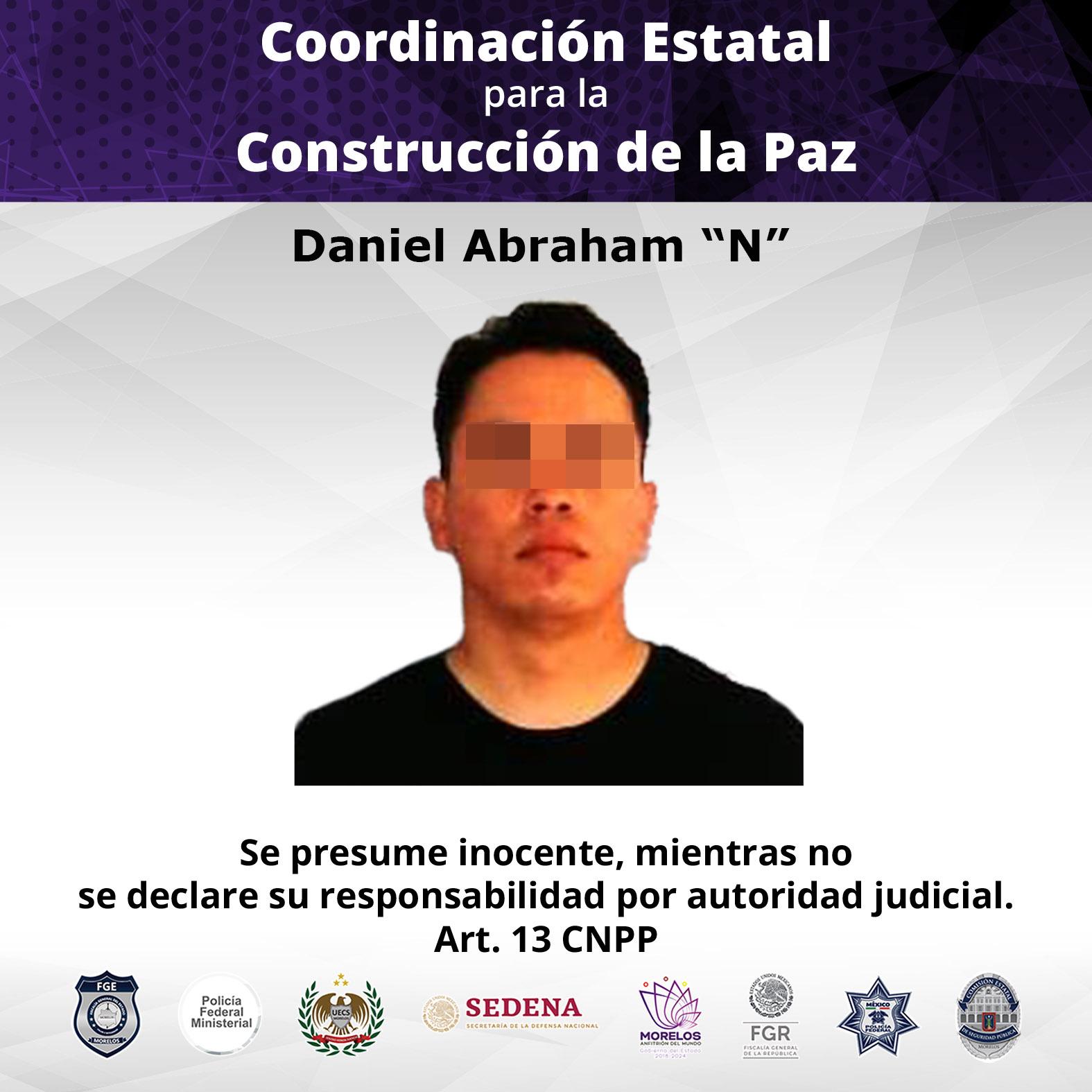 """Daniel Abraham """"N""""."""