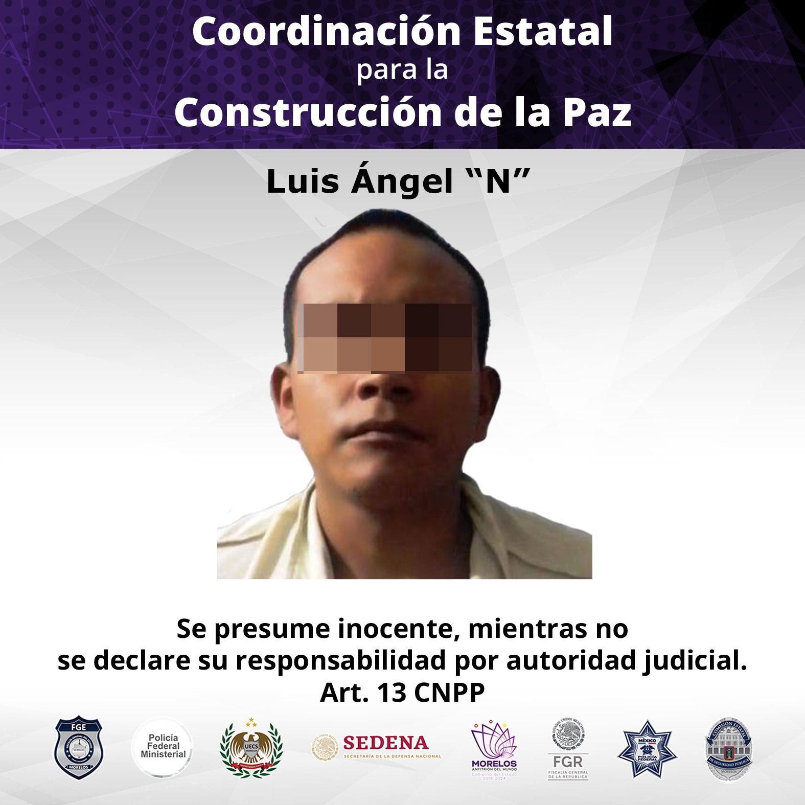 """Luis Ángel """"N""""."""