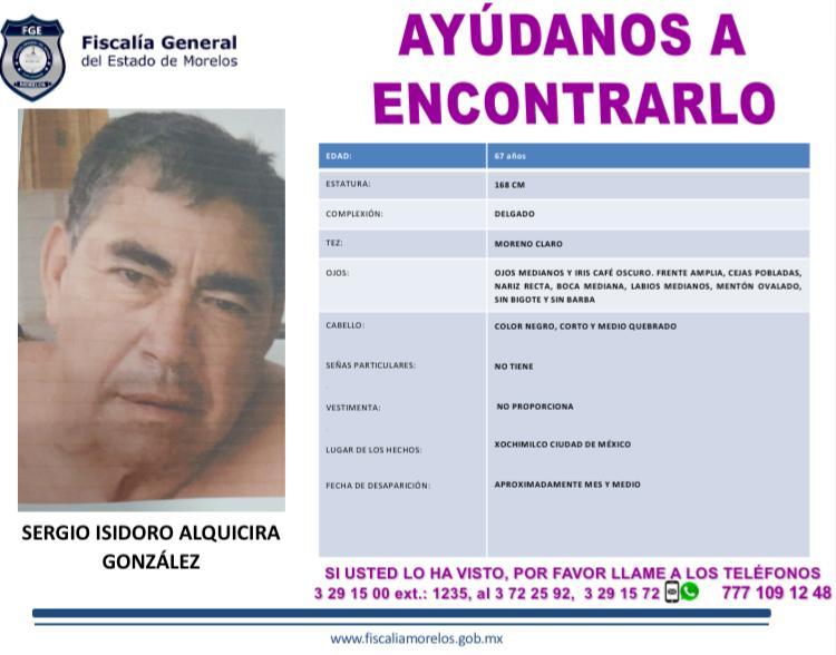 SERGIO ISIDORO ALQUICIRA GONZÁLEZ