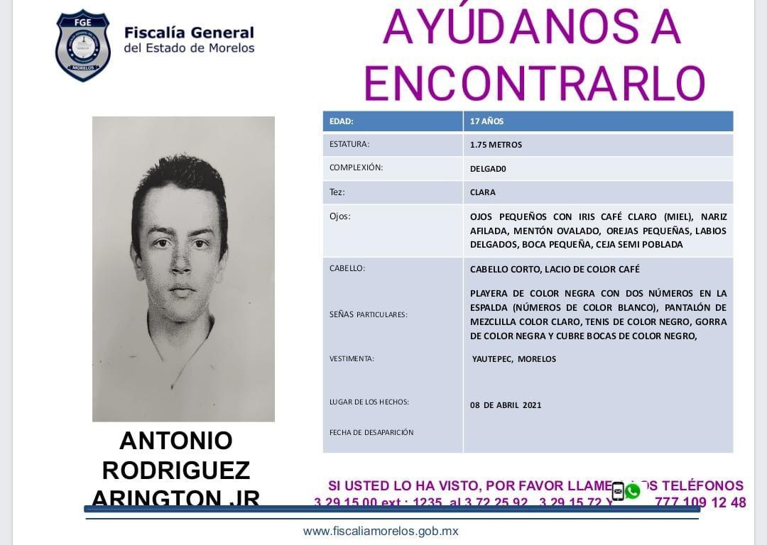 ANTOIO RODRÍGUEZ ARIGTON JR