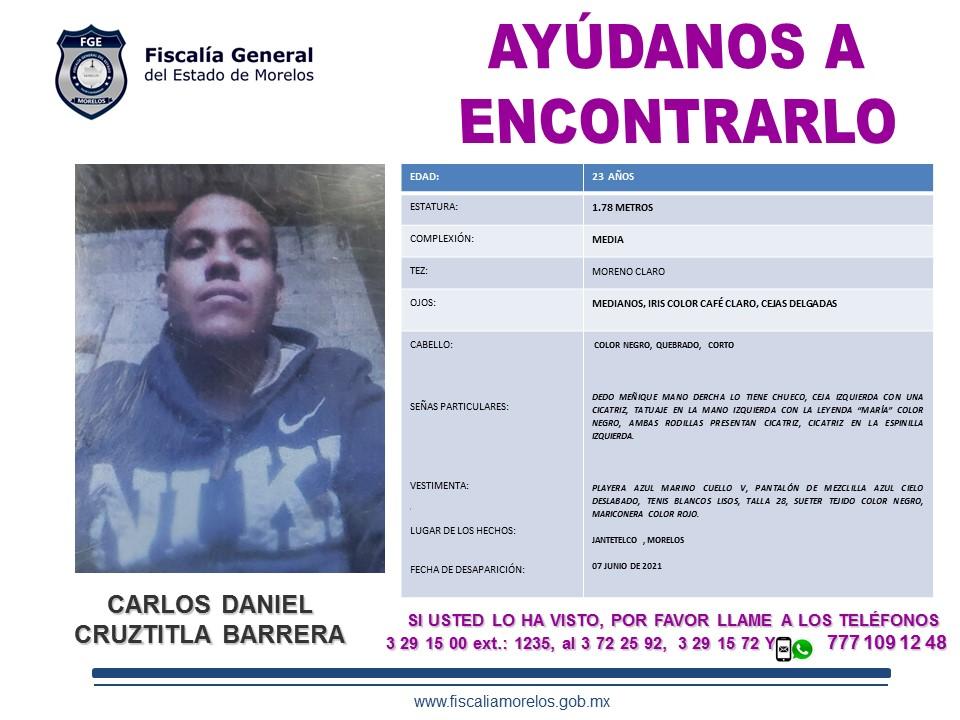 CARLOS DANIEL CRUZTITLA BARRERA